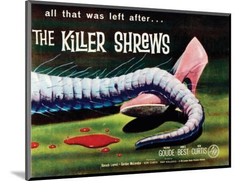 The Killer Shrews - 1959 I--Mounted Giclee Print