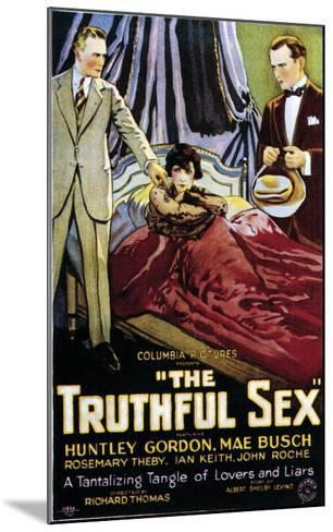 The Truthful Sex - 1926--Mounted Giclee Print
