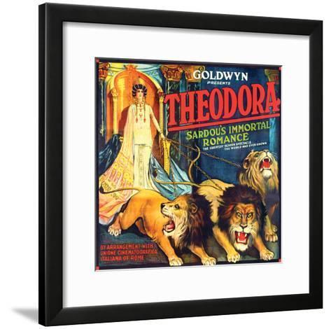 Theodora - 1919--Framed Art Print