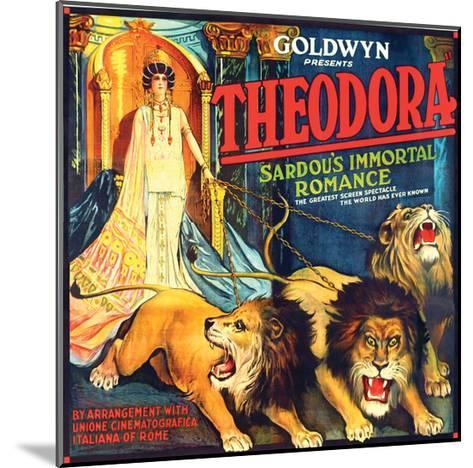 Theodora - 1919--Mounted Giclee Print
