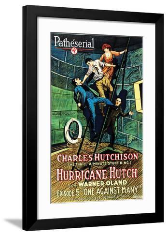Hurricane Hutch - 1921 III--Framed Art Print