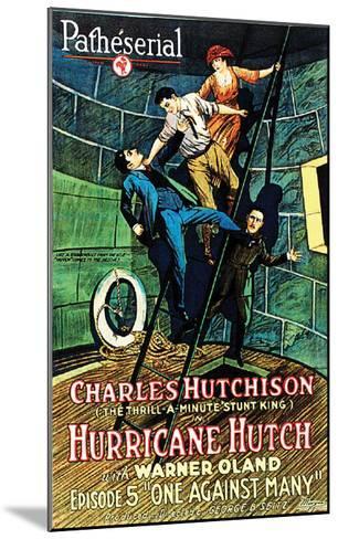 Hurricane Hutch - 1921 III--Mounted Giclee Print