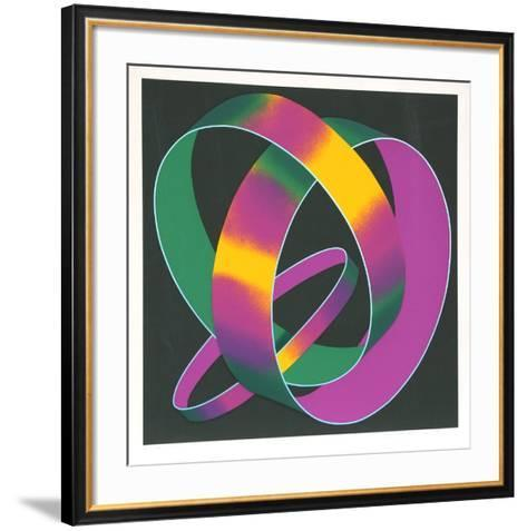 Whisper Theme: A Trilogy-Jack Brusca-Framed Art Print