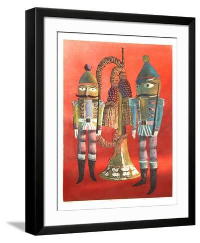 Two Soldiers-Francis Caldwell-Framed Art Print