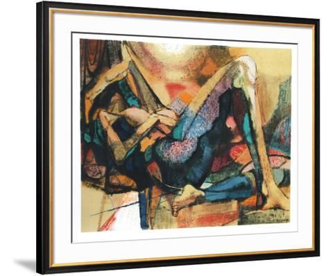 Reclining Nude-Jim Jonson-Framed Art Print