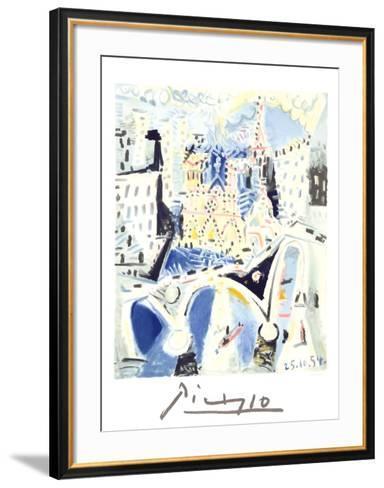 Notre Dame-Pablo Picasso-Framed Art Print