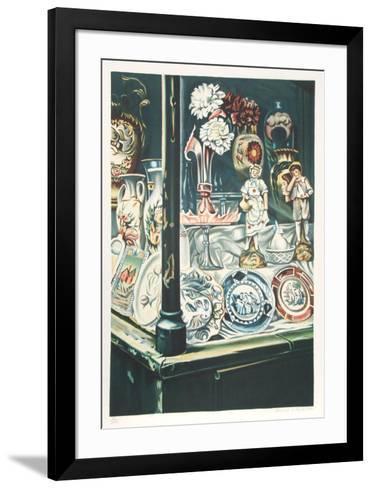 Antique Shop-Clarence Holbrook Carter-Framed Art Print