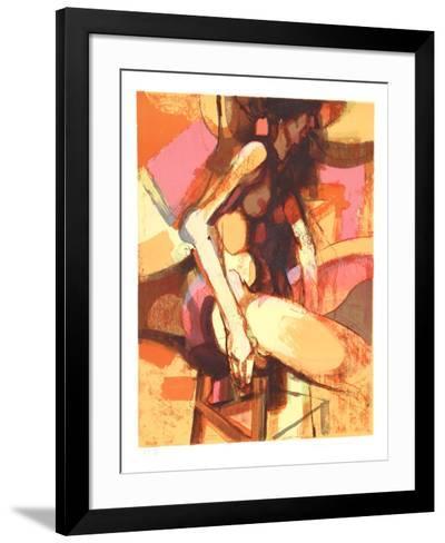 Seated Nude-Jim Jonson-Framed Art Print