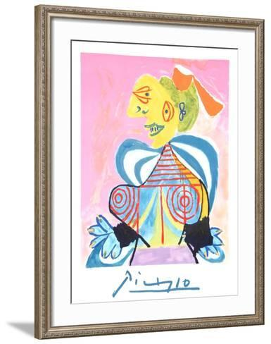 L'Alesienne-Pablo Picasso-Framed Art Print