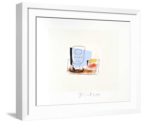 Nature Morte au Verre-Pablo Picasso-Framed Art Print