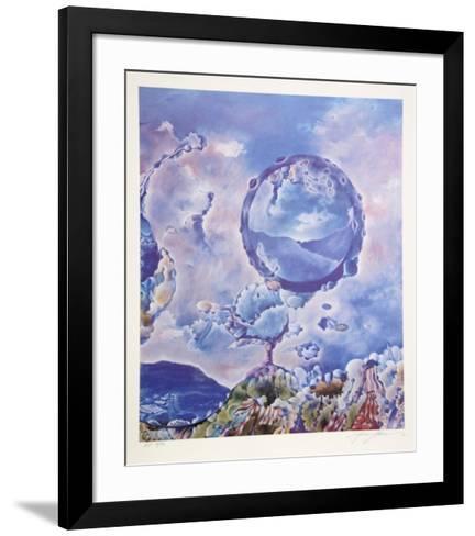 A Dream of Flight-Isaac Abrams-Framed Art Print