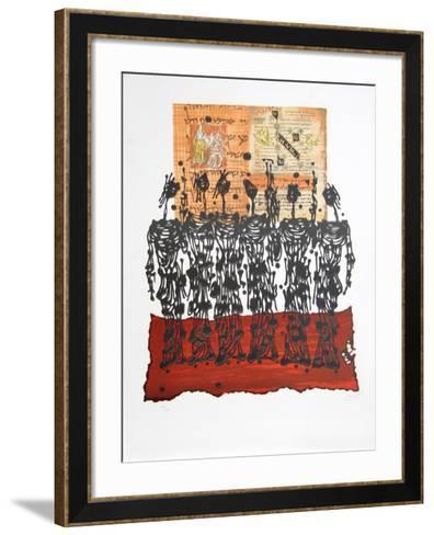 El Ritual-Moshe Elazar Castel-Framed Art Print