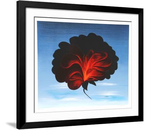 Black Rose-John Cedarstrom-Framed Art Print