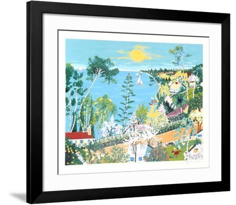 Pacific Coast Highway-Kay Ameche-Framed Art Print
