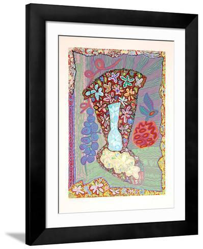 Flower Fantasy-Maurice Litvak-Framed Art Print