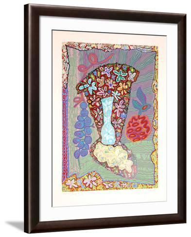Flower Fantasy-Maurice Litvak-Framed Art Print