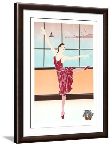 Solitary Dancer-Gina Lombardi Bratter-Framed Art Print