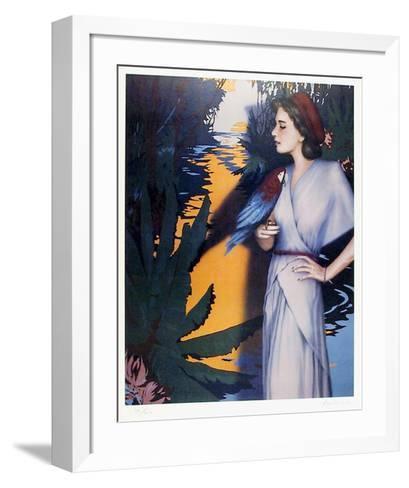 On the Amazon-Robert Anderson-Framed Art Print