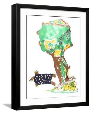 Turtle Dove-Benny Andrews-Framed Art Print