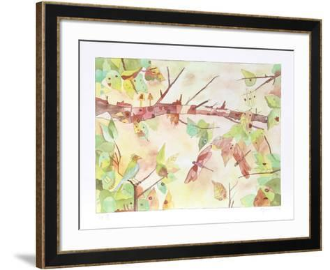 Autumn-Aymon de Roussy de Sales-Framed Art Print
