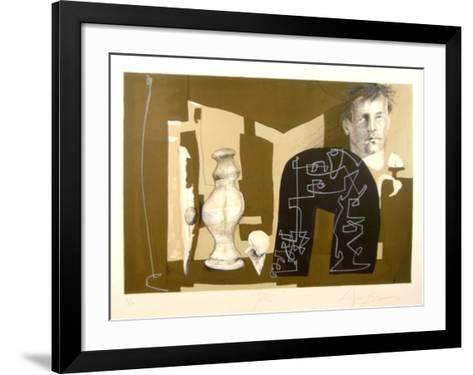 Peter-Eduardo Arranz-Bravo-Framed Art Print