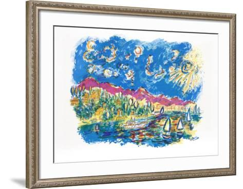 Bayside-Wayne Ensrud-Framed Art Print