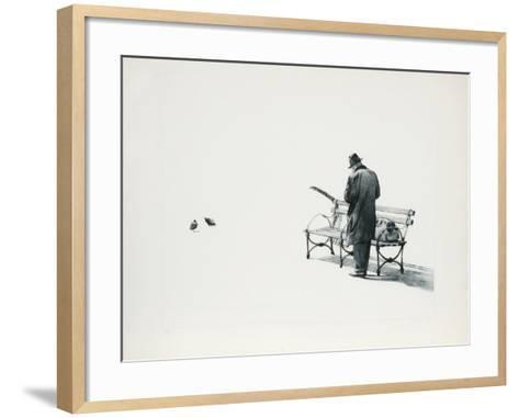 The Traveler-Harry McCormick-Framed Art Print