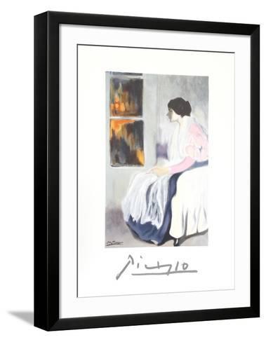 La Soeur de L'Artiste-Pablo Picasso-Framed Art Print