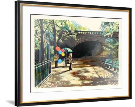 Balloons in Central Park-Harry McCormick-Framed Art Print