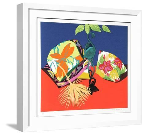 Iron Flamingo-Hunt Slonem-Framed Art Print