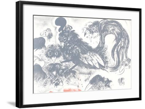 Untitled (Crows)-Robert Beauchamp-Framed Art Print