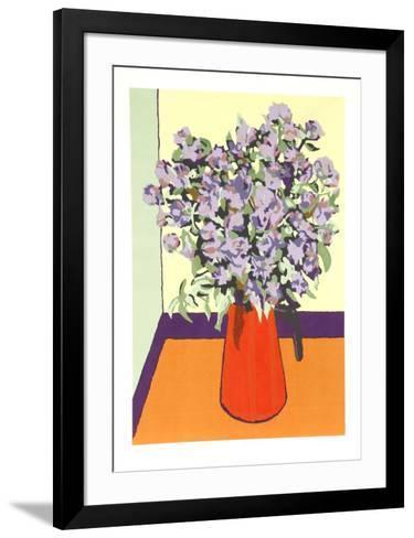 Wild Flowers-Phyllis Sussman-Framed Art Print
