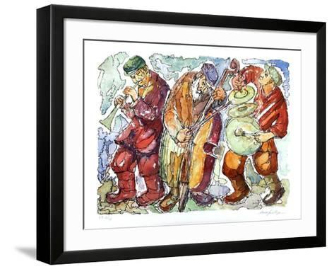 Trio-Chaim Goldberg-Framed Art Print