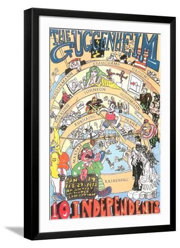 Guggenheim-Red Grooms-Framed Art Print