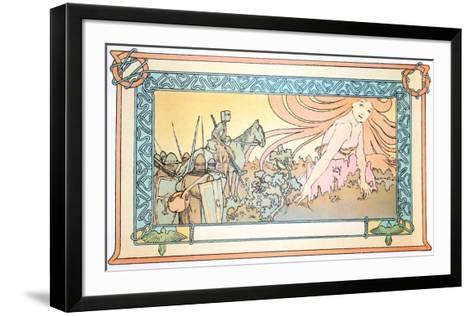 Soldiers Dream-Alphonse Mucha-Framed Art Print