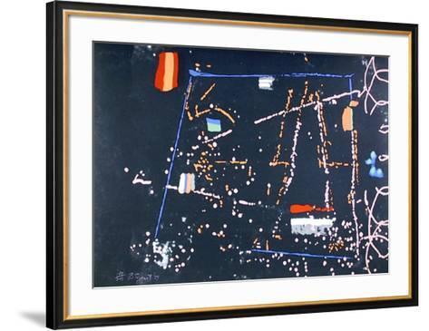 Black Spiral-William Taggart-Framed Art Print