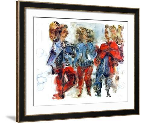 Untitled-Chaim Gross-Framed Art Print