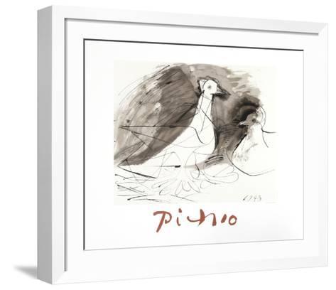 Pigeons-Pablo Picasso-Framed Art Print
