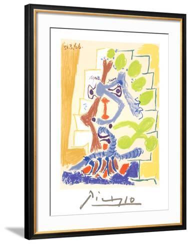 Le Peintre-Pablo Picasso-Framed Art Print