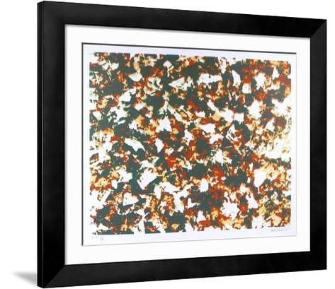 Winds White Leaves-Domenick Turturro-Framed Art Print