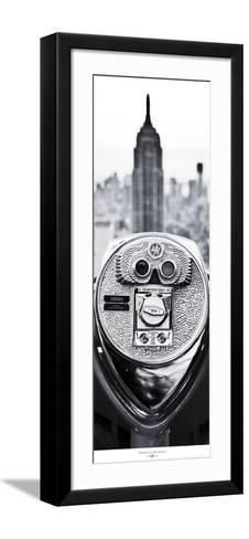 Manhattan- Binoculars-Philip Plisson-Framed Art Print