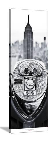 Manhattan- Binoculars-Philip Plisson-Stretched Canvas Print
