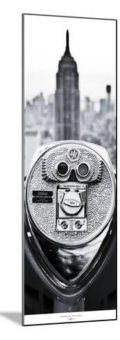 Manhattan- Binoculars-Philip Plisson-Mounted Art Print