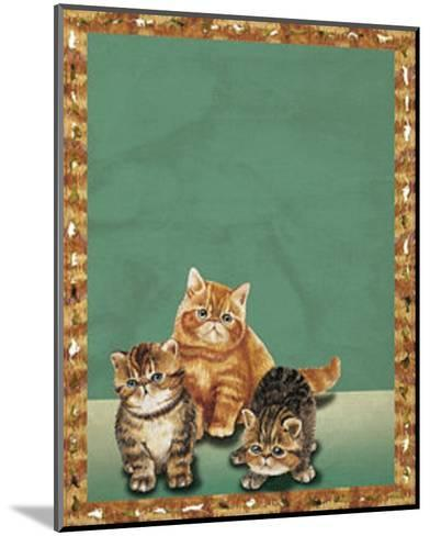 Cats II--Mounted Art Print