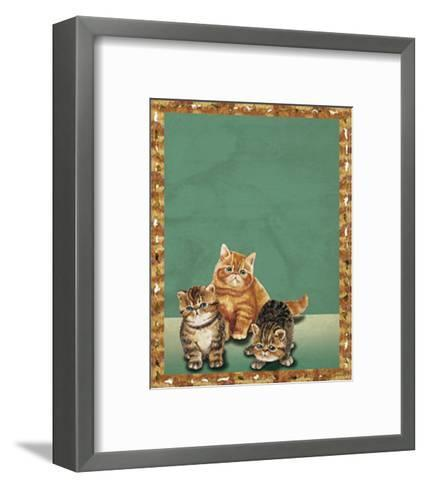 Cats II--Framed Art Print