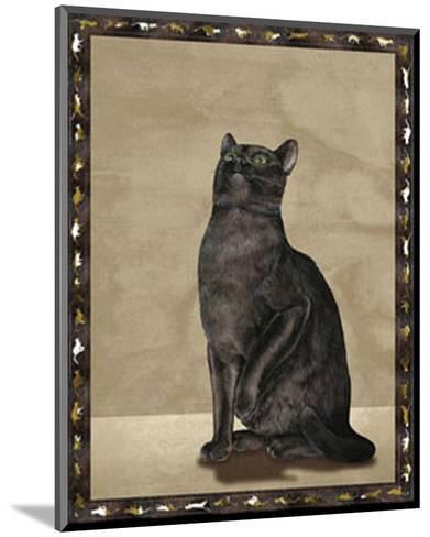 Cats I--Mounted Art Print