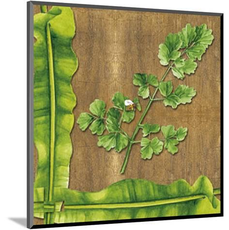 Leaves I--Mounted Art Print