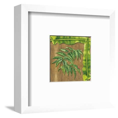 Leaves IV--Framed Art Print