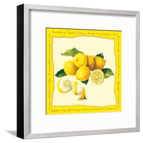 Lemons I--Framed Art Print