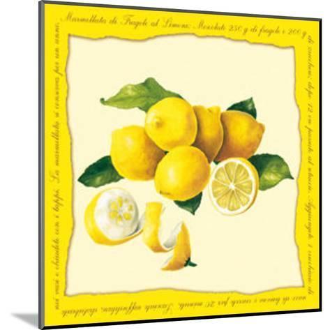 Lemons I--Mounted Art Print